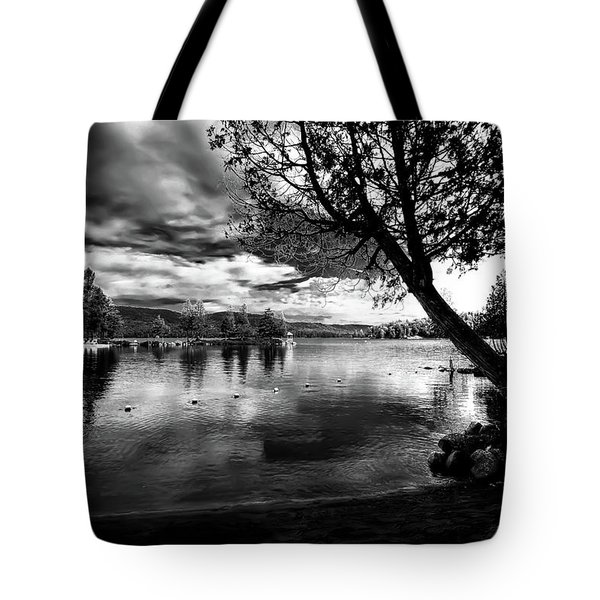 Tote Bag featuring the photograph Beach Silhouette by David Patterson