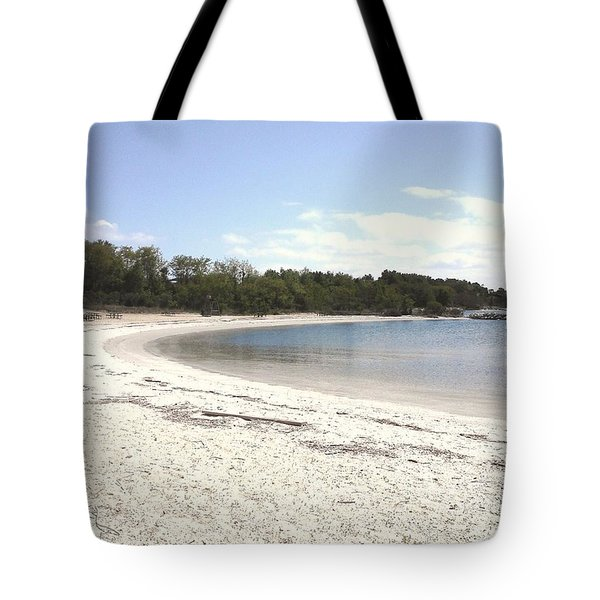 Beach Solomons Island Tote Bag