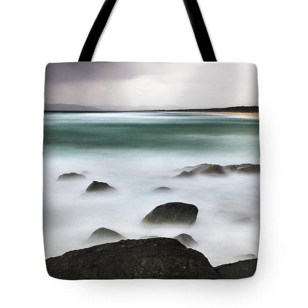 Beach Squall Tote Bag