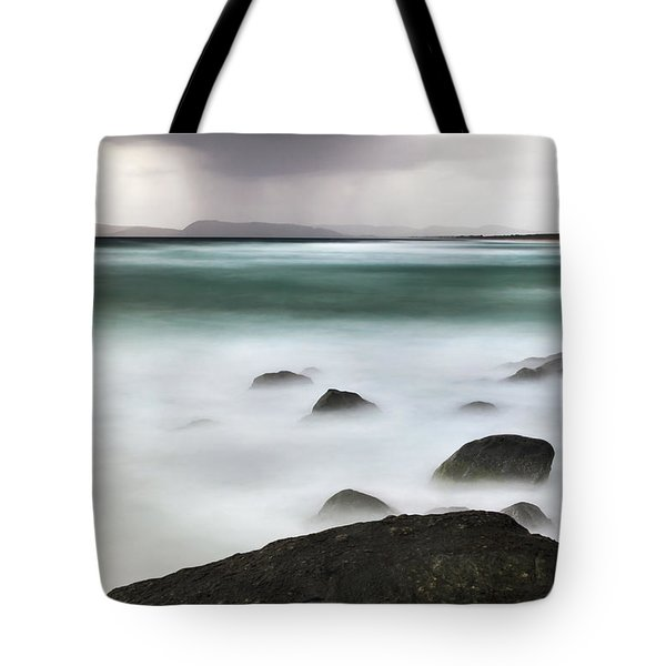 Beach Squall Tote Bag