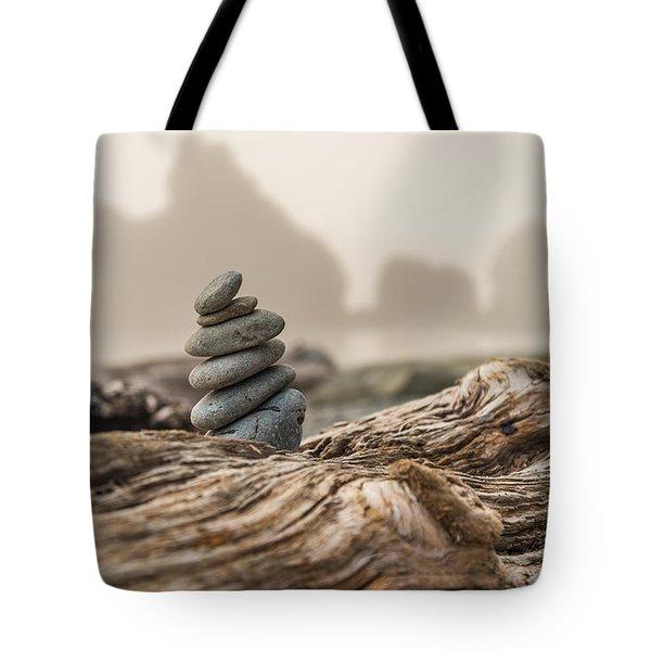 Beach Stack Tote Bag