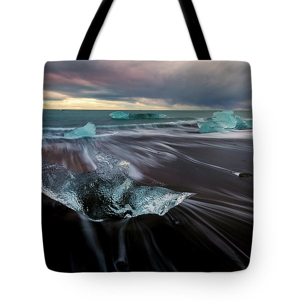 Beach Stranded Tote Bag