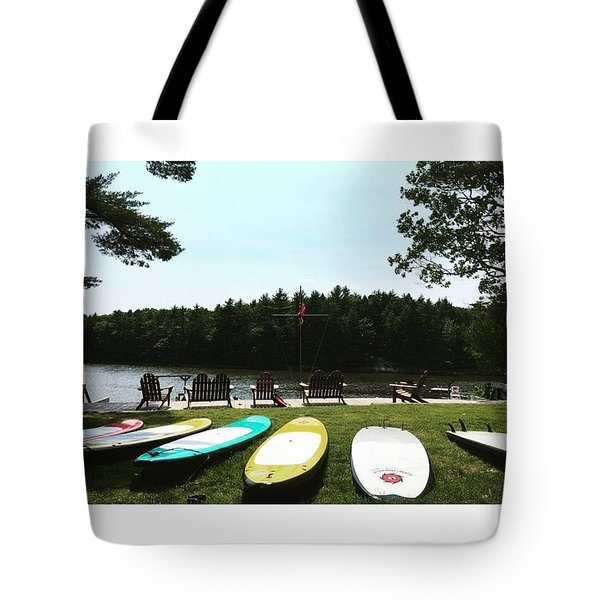 Surf Beach Tote Bag