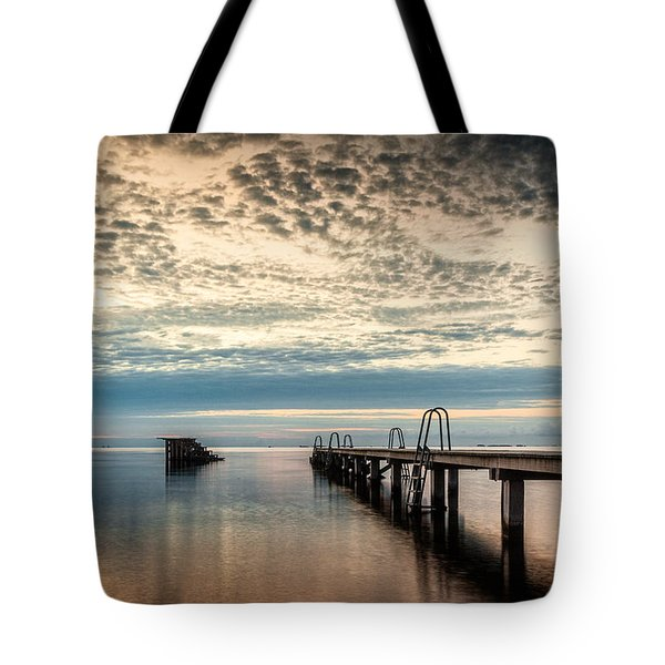 Tote Bag featuring the photograph Beach Sunrise I by Stefan Nielsen