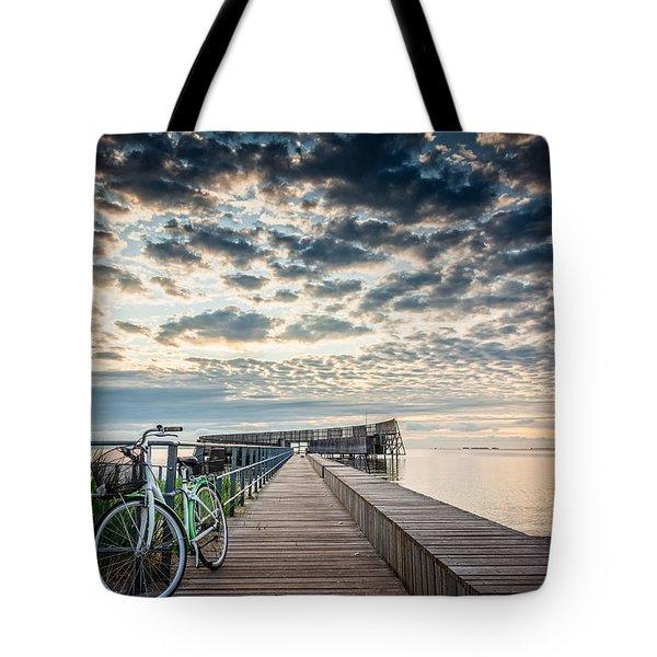 Beach Sunrise II Tote Bag