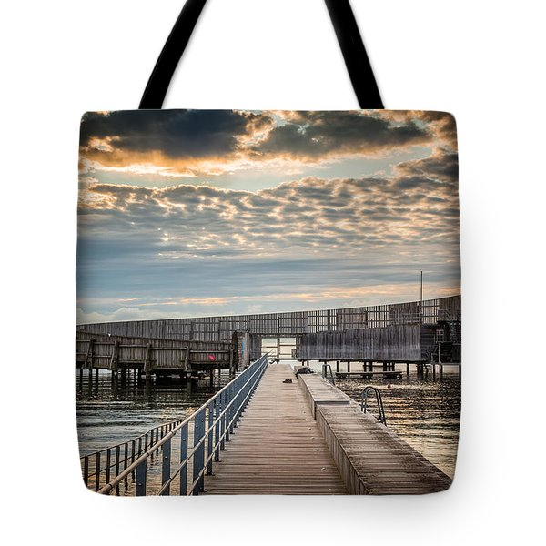 Tote Bag featuring the photograph Beach Sunrise IIi by Stefan Nielsen
