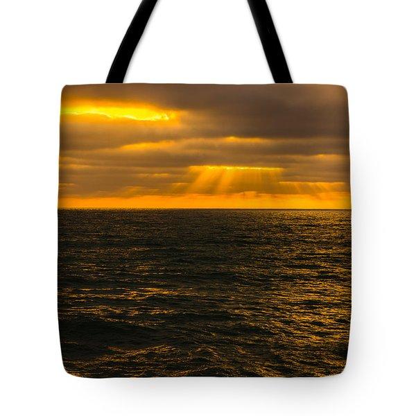Beach Sunset Delmar/torrey Pines San Diego California Img 2 Tote Bag