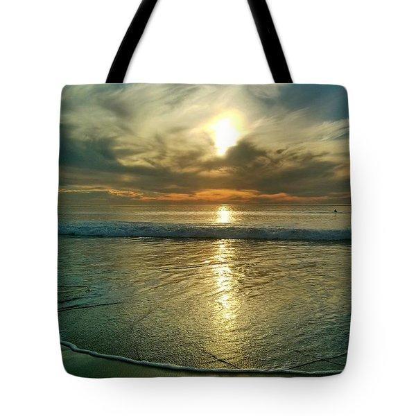 Beach Sunset Tote Bag