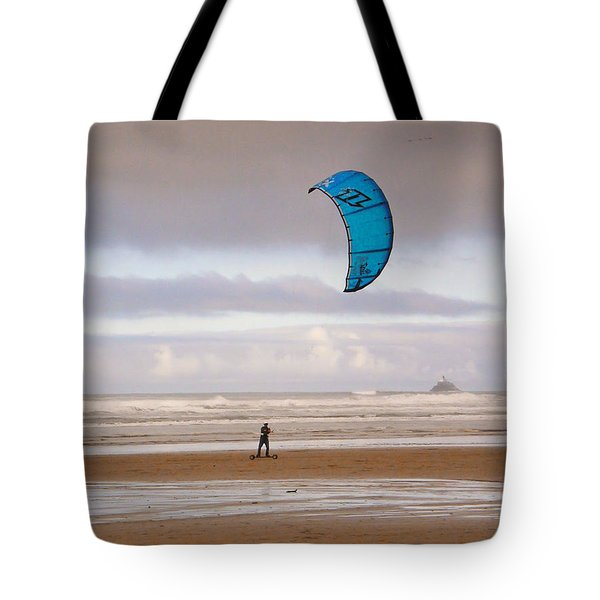 Beach Surfer Tote Bag