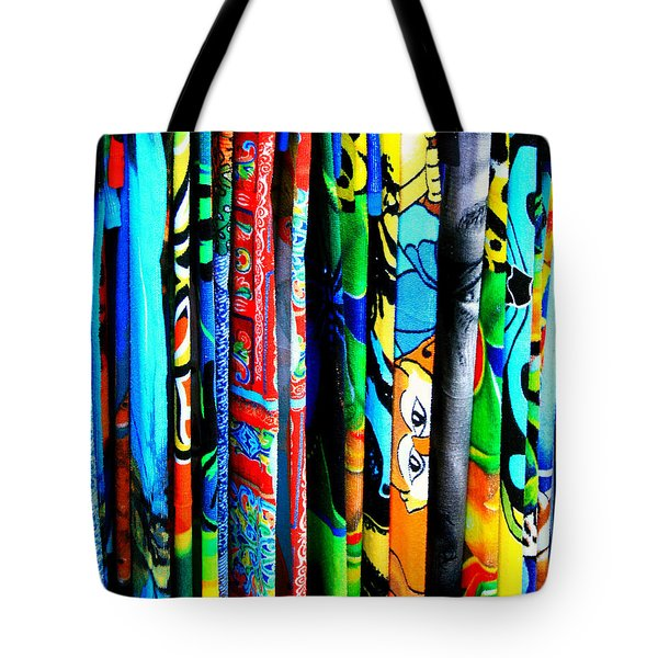 Beach Towels Tote Bag by Perry Webster