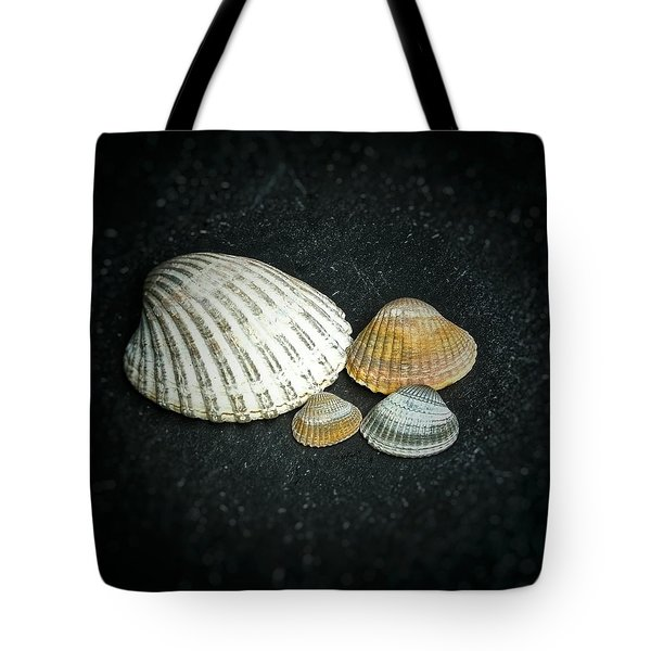 Tote Bag featuring the photograph Beach Treasures  by Karen Stahlros