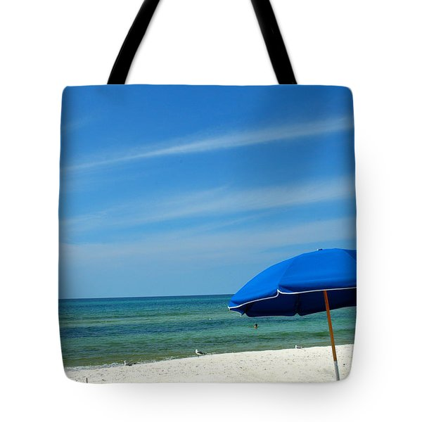 Beach Umbrella Tote Bag by Susanne Van Hulst