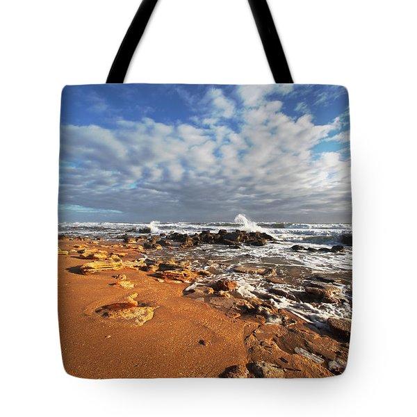 Beach View Tote Bag