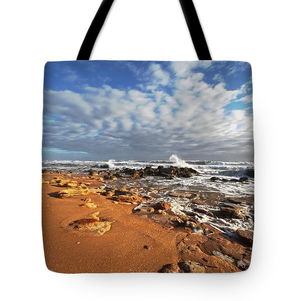 Beach View Tote Bag