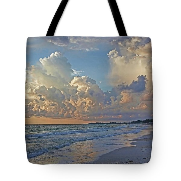 Beach Walk Tote Bag by HH Photography of Florida