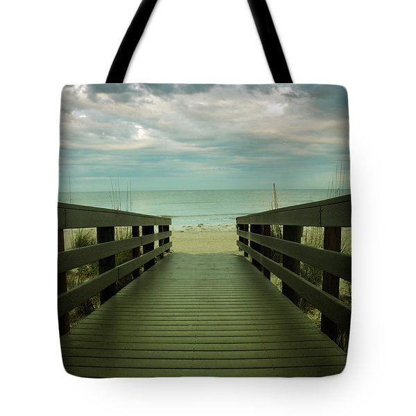 Bridge To Beach Tote Bag