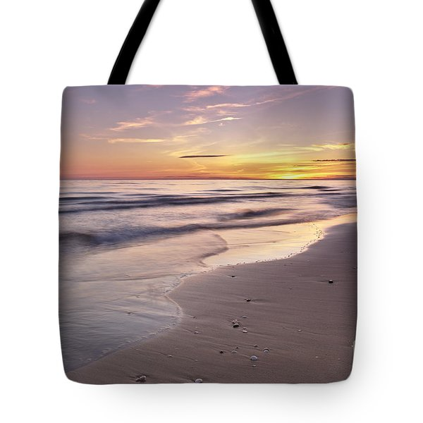 Beach Welcoming Twilight Tote Bag