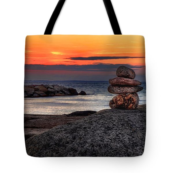 Tote Bag featuring the photograph Beach Zen by Mark Miller