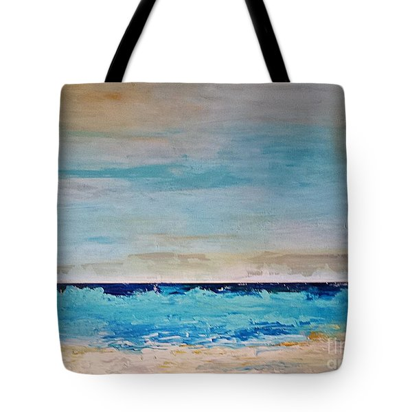 Beach1 Tote Bag by Diana Bursztein