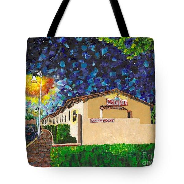 Beachcomber Motel Tote Bag