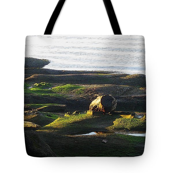 Beachcomber's Gold Tote Bag by Anne Havard