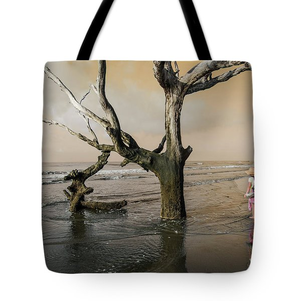 Beachcombing Tote Bag