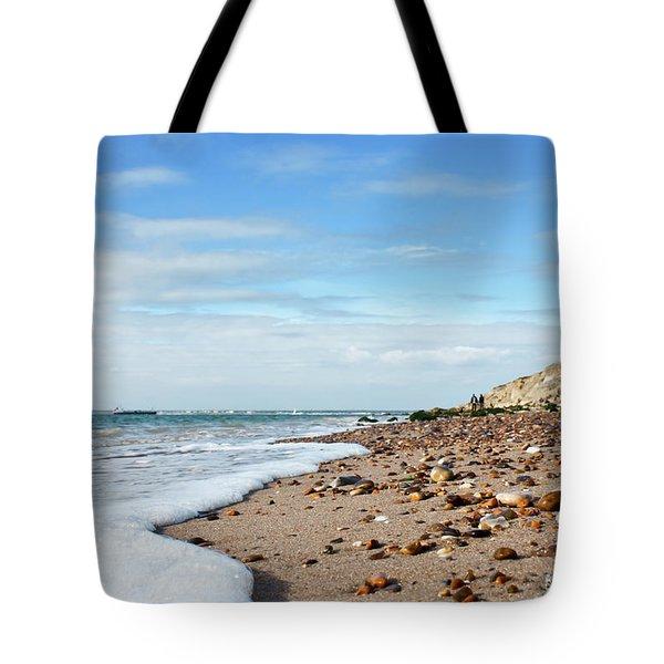 Beachcombing Tote Bag by Terri Waters
