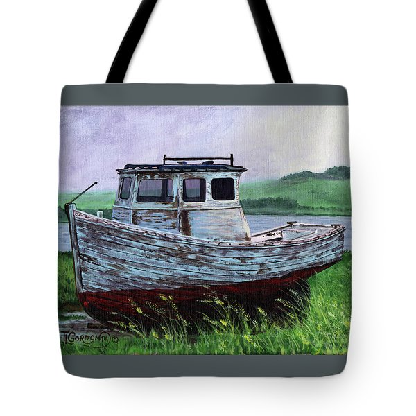 Beached At Bay Of Ayre Tote Bag