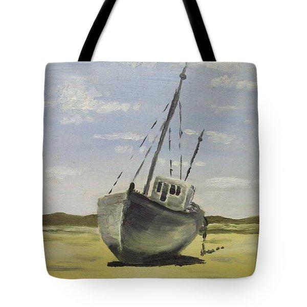 Beached At Bunbeg Tote Bag by Alan Hogan