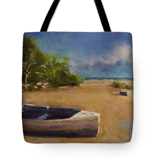 Beached Tote Bag by David Patterson