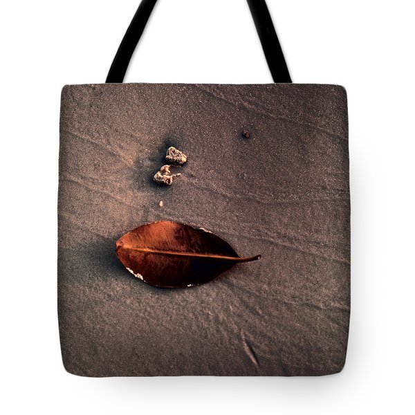 Beached Leaf Tote Bag
