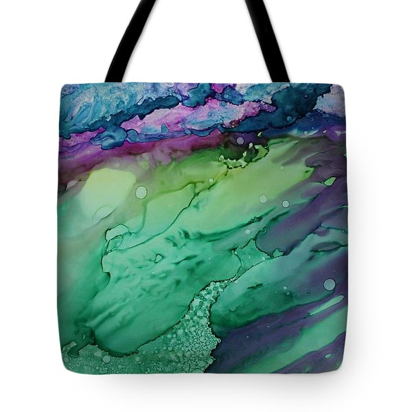 Beachfroth Tote Bag