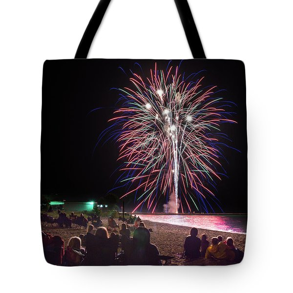 Tote Bag featuring the photograph Beachside Spectacular by Bill Pevlor