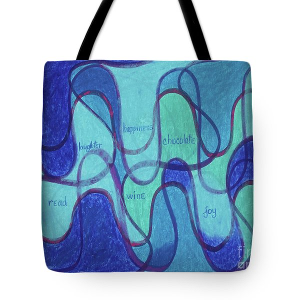 Beachy Two Tote Bag