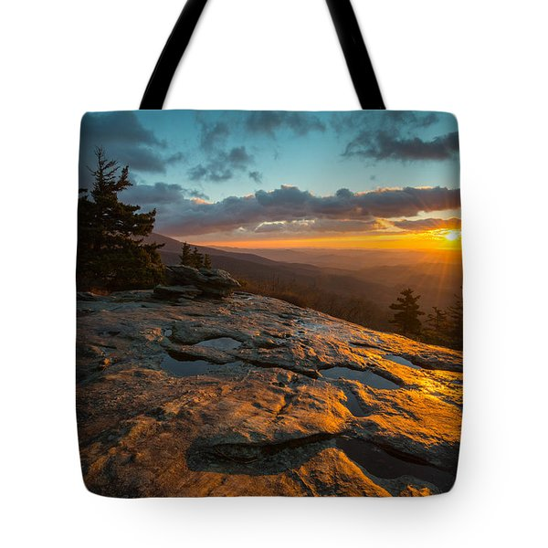 Beacon Heights Blue Ridge Park Way Tote Bag