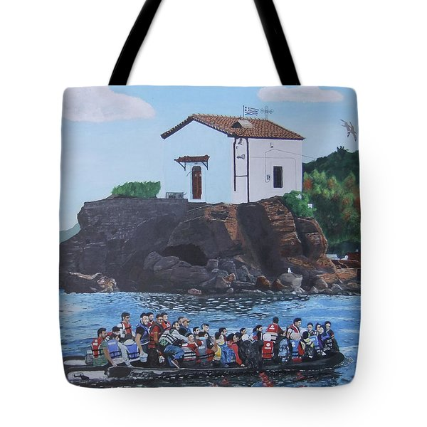 Beacon Of Hope Tote Bag by Eric Kempson
