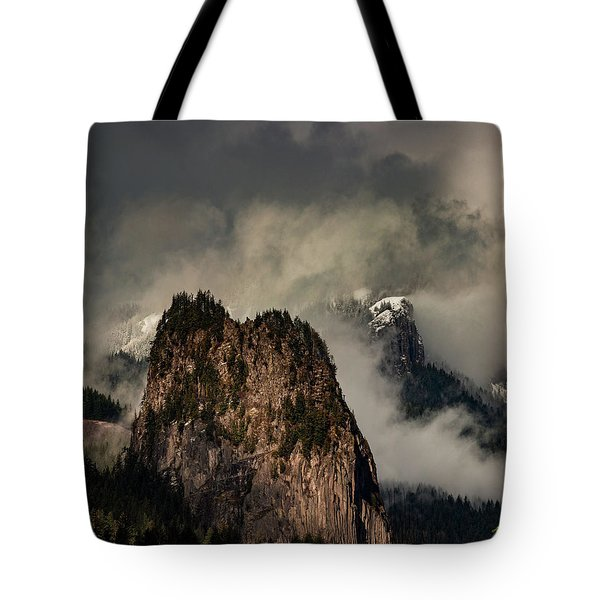 Beacon Rock Tote Bag
