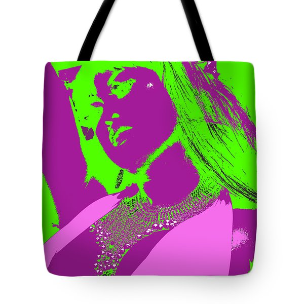 Beads And Boobs Tote Bag by Tbone Oliver