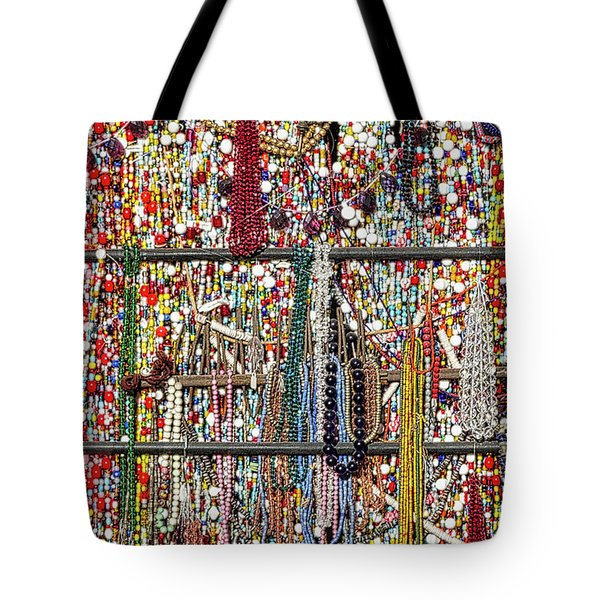 Beads In A Window Tote Bag