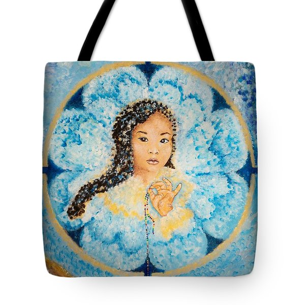 Flying Lamb Productions.        Beads Of Life Tote Bag