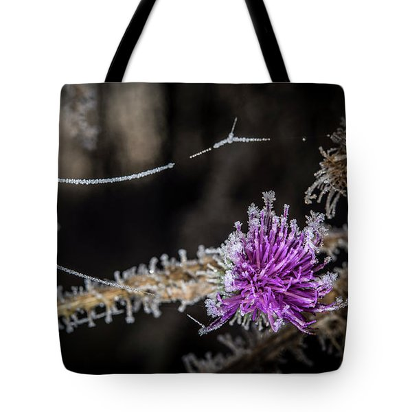 Beadwork Tote Bag by Annette Berglund