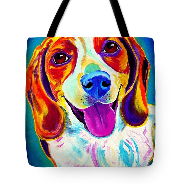 Beagle - Lucy Tote Bag