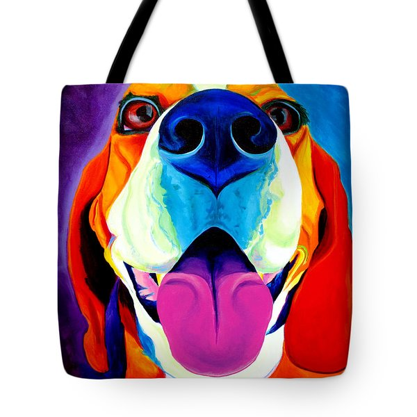 Beagle - Lollipop Tote Bag