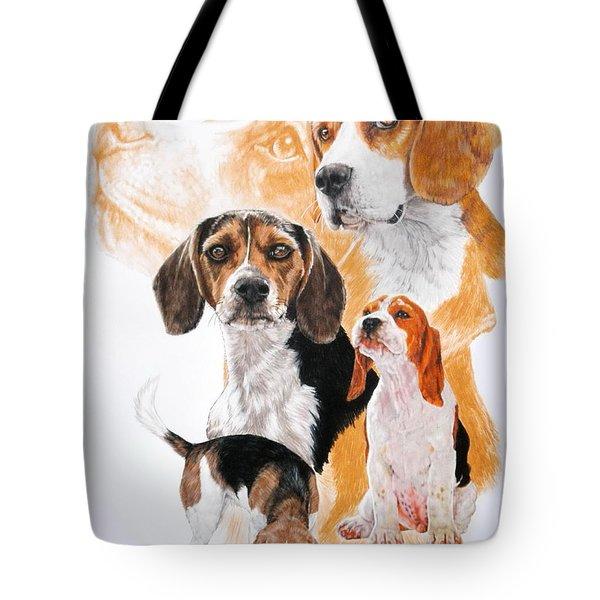 Beagle Hound Medley Tote Bag
