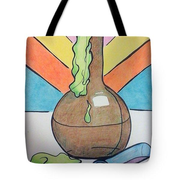 Beaker Tote Bag