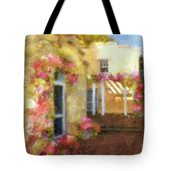Tote Bag featuring the digital art Beallair In Bloom by Lois Bryan