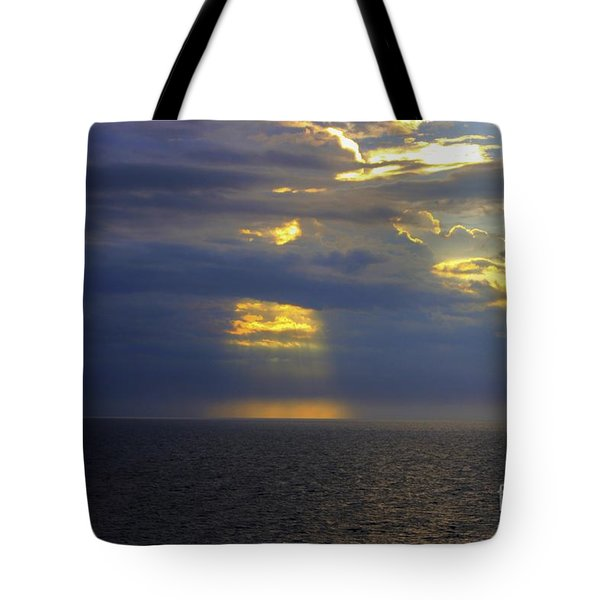 Beam Me Up Tote Bag by Patti Whitten