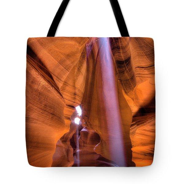 Beam Splitter Tote Bag