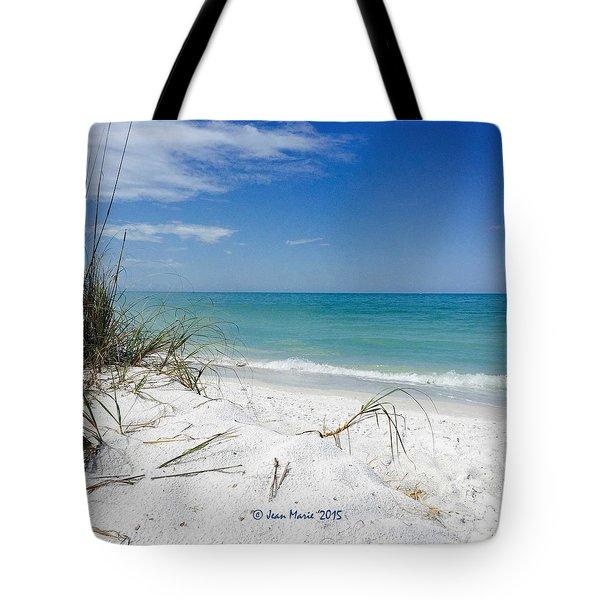 Bean Point, Anna Maria Island Tote Bag by Jean Marie Maggi