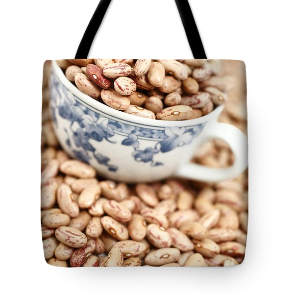 Beans In A Cup Tote Bag by Gaspar Avila